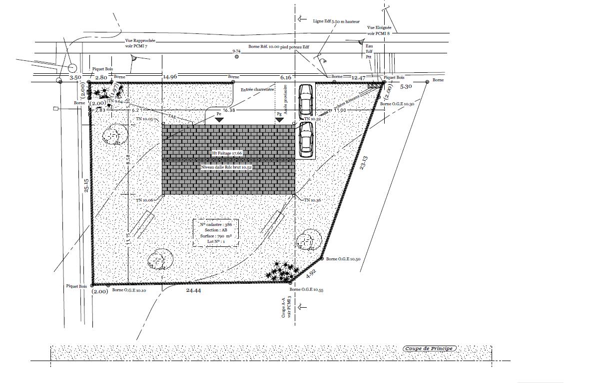 Plan de masse exemple for Plan masse architecture